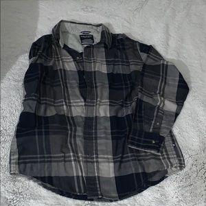 BUTTON DOWN LONG SLEEVE DRESS SHIRT